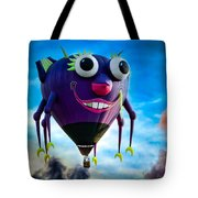 Purple People Eater Tote Bag