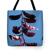 Purple Pods Tote Bag