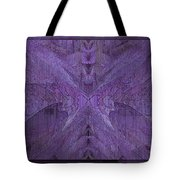 Purple Poeticum Tote Bag