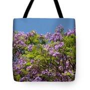 Purple Prelude Tote Bag