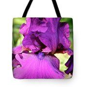 Purple Purity Tote Bag