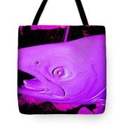 Purple Salmon Tote Bag