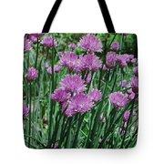 Purple Spikes Tote Bag