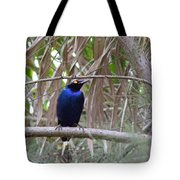Purple Starling Tote Bag