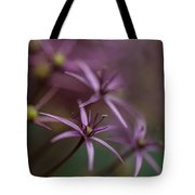 Purple Stars Tote Bag