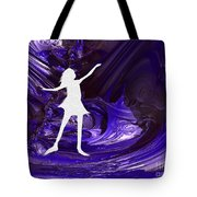 Purple Taffy Tote Bag