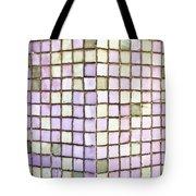 Purple Tiles Tote Bag