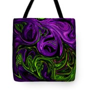 Purple Transformation Tote Bag