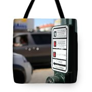 Push Button Tote Bag