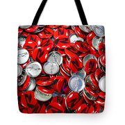 Push Chevys Buttons Tote Bag