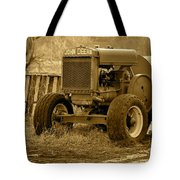 Put Out But Not Abandoned In Sepia Tote Bag