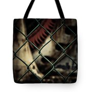 Putting Up The Guard Tote Bag