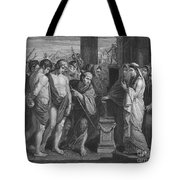 Pylades And Orestes Tote Bag