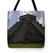 Pyramid  Of Kukulkan  Tote Bag