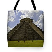 Pyramid Of Kukulkan Two Tote Bag
