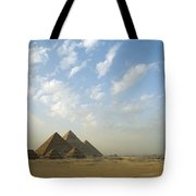 Pyramids,giza,egypt Tote Bag