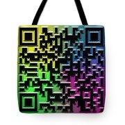 Qr Art Tote Bag