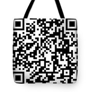 Qr Code Artists Website Tote Bag