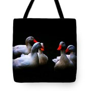 Quackery Quintet Tote Bag