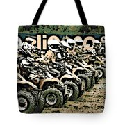 Quad Racers Tote Bag