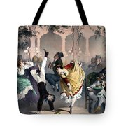 Quadrille At The Bal Bullier Tote Bag