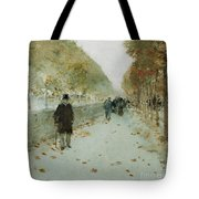 Quai Du Louvre Tote Bag by Childe Hassam