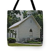 Quaker Church Pencil Tote Bag