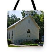 Quaker Church Tote Bag by Scott Hervieux