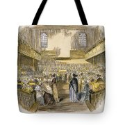 Quaker Meeting, 1843 Tote Bag