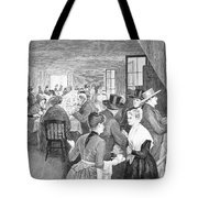 Quaker Meeting, 1888 Tote Bag