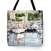 Quattro Barche Al Pennello Di Bonaria Tote Bag