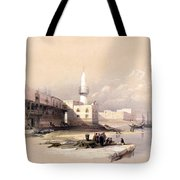 Quay At Suez Febrary 11th 1839 Tote Bag