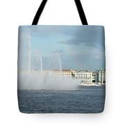 Quay In Peterburg Tote Bag