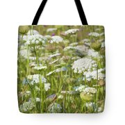 Queen Anne's Lace In All Its Glory Tote Bag