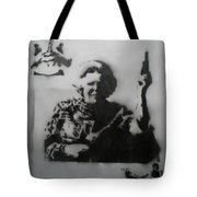 queen Beatrix and Bruce Lee Tote Bag