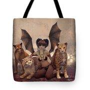 Queen Of Cats Tote Bag