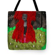 Queen Of The Huns Tote Bag