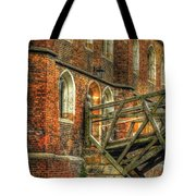 Queens' College And Mathematical Bridge Tote Bag