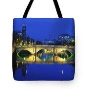 Queens Street Bridge, River Liffey Tote Bag