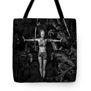 Question Of Balance Tote Bag