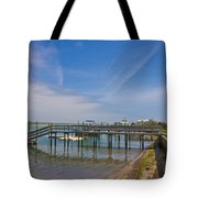 Quiet At The Sound Tote Bag