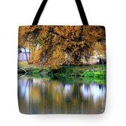 Quiet Autumn Day Tote Bag