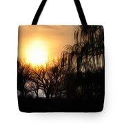 Quiet Country Sunrise Tote Bag