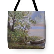 Quiet Lake Tote Bag