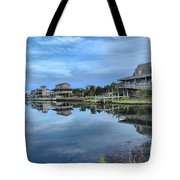 Quiet On The Sound Tote Bag