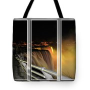 Quiet Thunder Triptych Series Tote Bag
