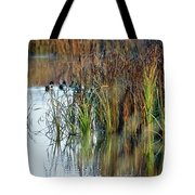 Quietly Slipping Away Tote Bag