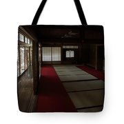 Quietude Of Zen Meditation Room - Kyoto Japan Tote Bag by Daniel Hagerman