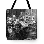 Quilting Party, 1864 Tote Bag