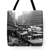 Quincy Market From Faneuil Hall - Boston - C 1906 Tote Bag